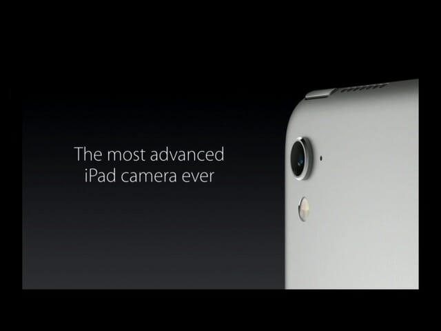 AppleSpecialEvent20160321iPadPro9 7インチ12MPカメラ