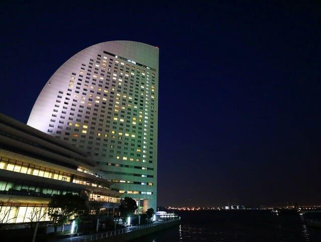ヨコハマ グランド インターコンチネンタルホテル夜景