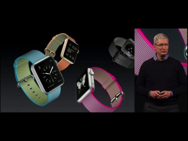 AppleSpecialEvent20160321AppleWatchウーブンナイロン