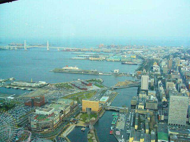 横浜ランドマークタワー2008年眺望2