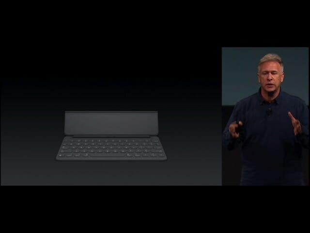 AppleSpecialEvent20160321iPadPro9 7インチSmartKeyboard