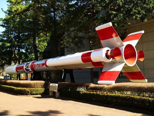 宇宙科学研究所 相模原キャンパス ロケット原寸模型M 3S2
