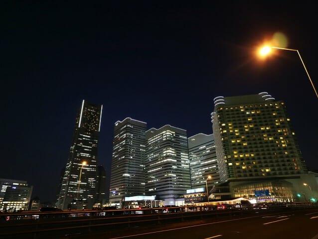 横浜ランドマークタワー夜景