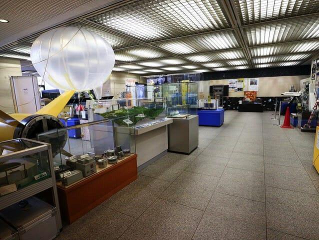 宇宙科学研究所 相模原キャンパス 研究 管理棟展示室4