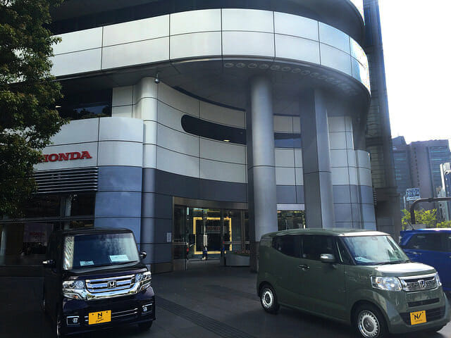 Hondaウェルカムプラザ青山入口