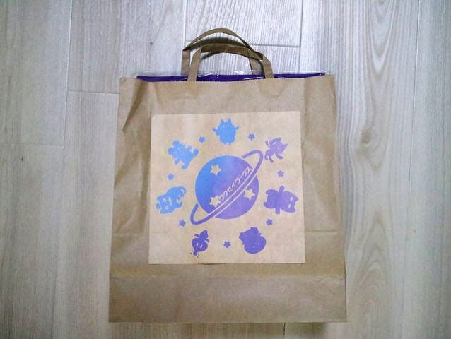 デザインフェスタ43ゆこびん買い物袋