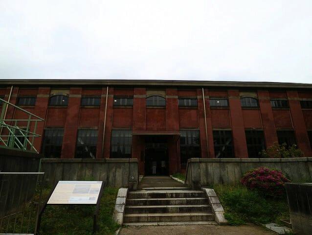 旧三河島汚水処分場ポンプ場施設ポンプ室