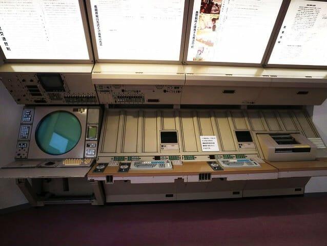 所沢航空発祥記念館管制室