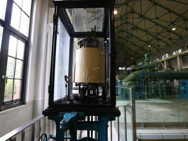 旧三河島汚水処分場ポンプ場施設3ヴェンチュリーメーター