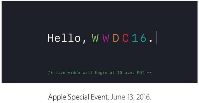 WWDC16ロゴ