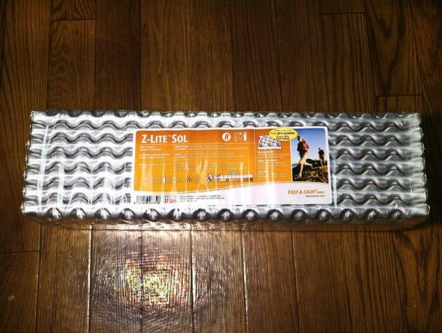 道具 サーマレスト寝袋マット