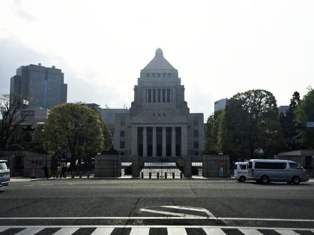 国会議事堂東面