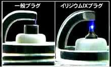 一般イリジウムスパーク比較