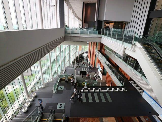日本科学未来館 吹抜7階
