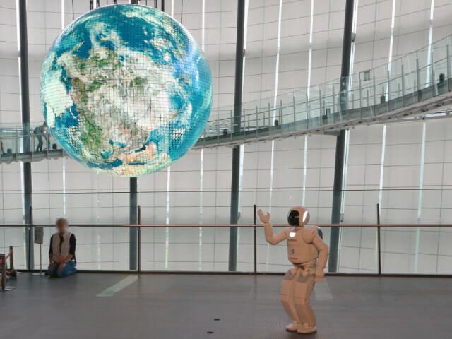 日本科学未来館 3階ASIMO