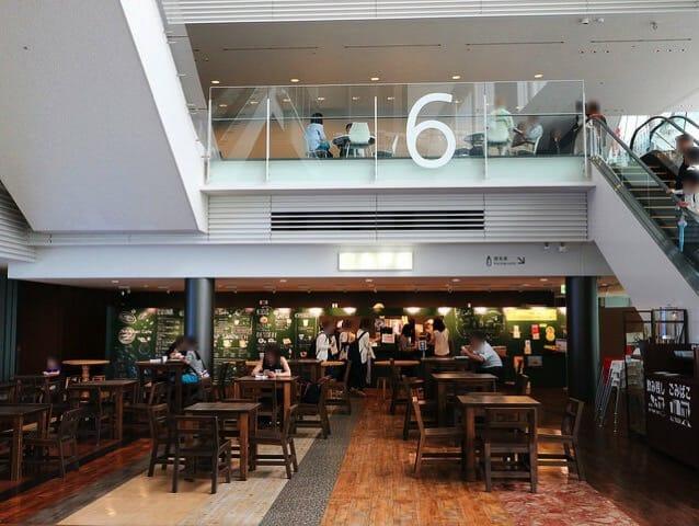 日本科学未来館 6階喫茶店
