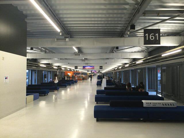 第3ターミナル搭乗口フロアー