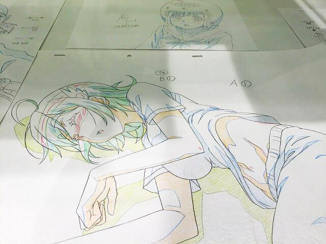 ばくおん展佐倉羽音原画