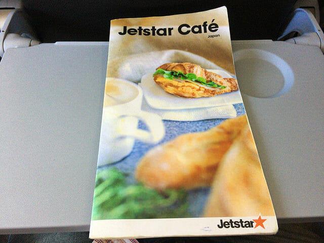 機内ジェトスターカフェ1