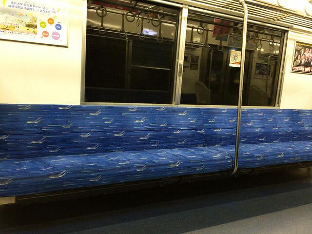 京成電鉄アクセス特急車内