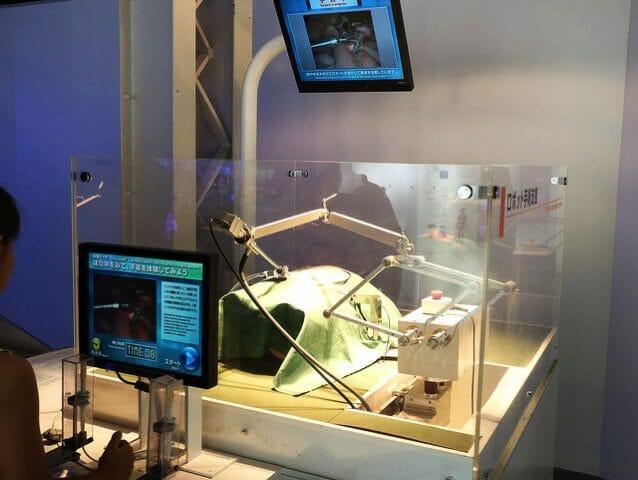 日本科学未来館 5階ロボット手術支援