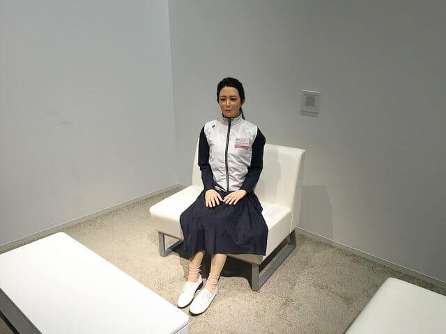 日本科学未来館 3階オトナロイド