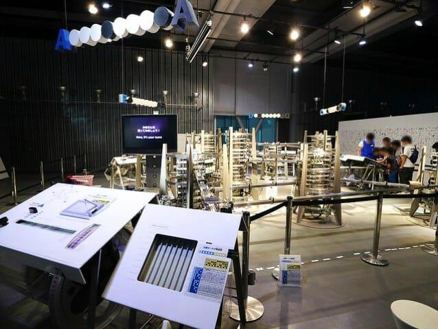 日本科学未来館 3階インターネット物理モデル