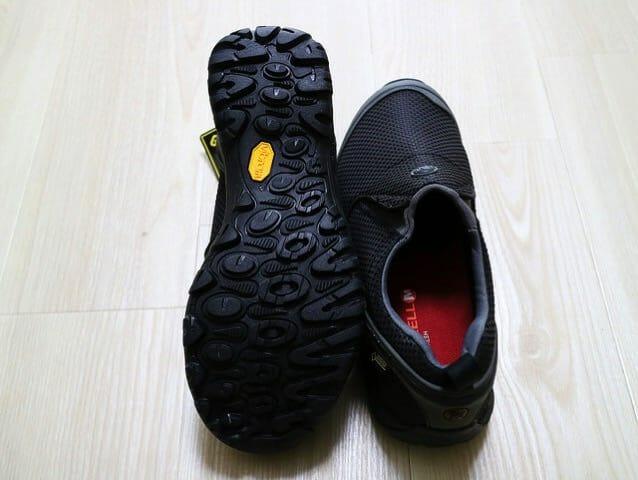 メレルウォーキングシューズモックゴアテックス靴底