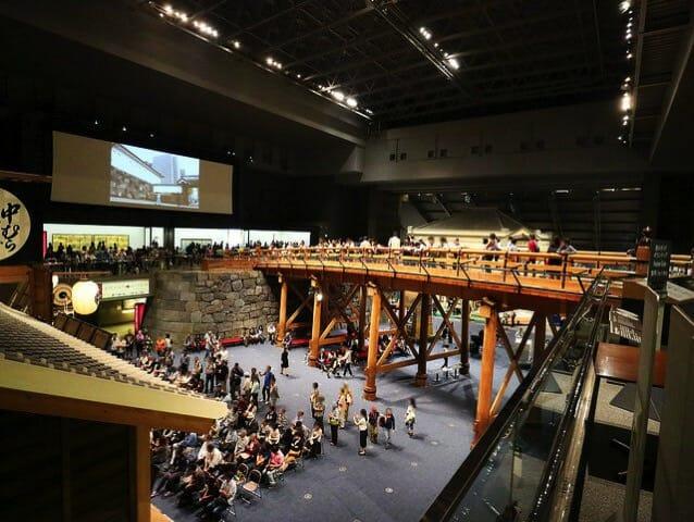江戸東京博物館6F日本橋