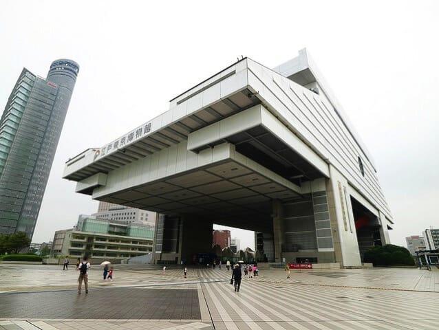 江戸東京博物館3F外観
