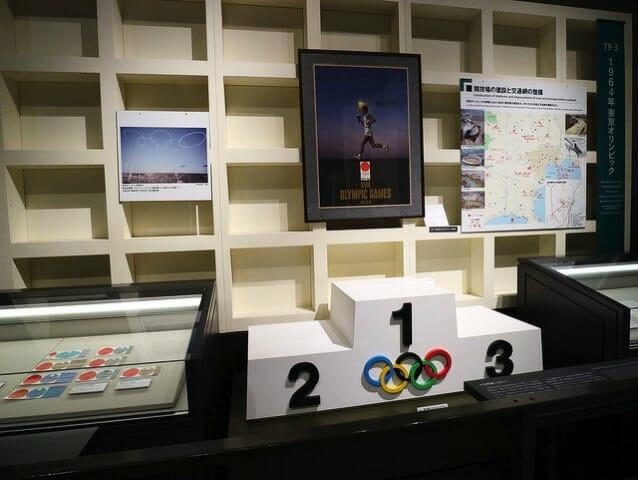 江戸東京博物館5F1964年東京オリンピック