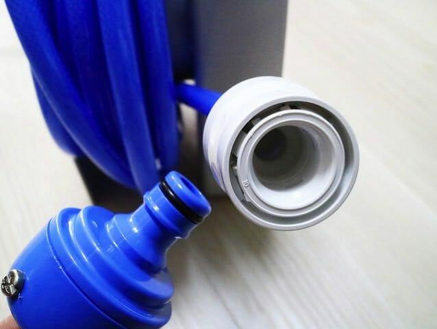 タカギ散水ホースリールR110FJ蛇口接続ワンタッチ
