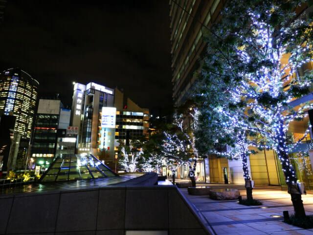 東京ミッドタウン クリスマス2016イルミネーション 2ウェルカムイルミネーション