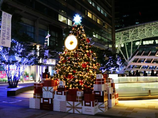 東京ミッドタウン クリスマス2016イルミネーション 1ウェルカムツリー