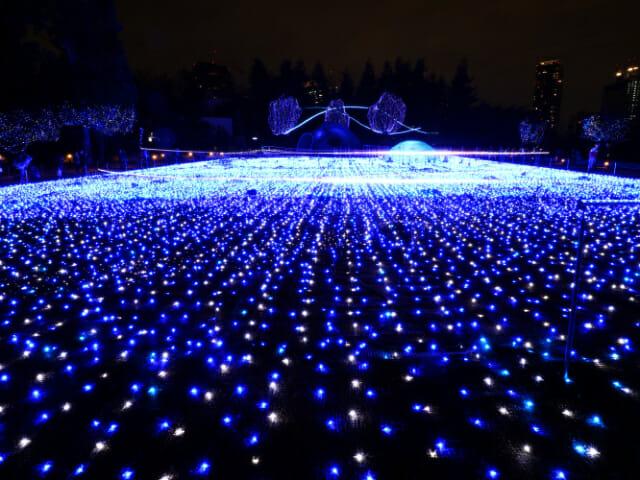 東京ミッドタウン クリスマス2016イルミネーション 6 1スターライトガーデン