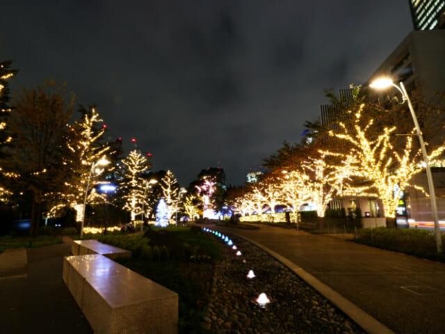 東京ミッドタウン クリスマス2016イルミネーション 3 1ツリーイルミネーション