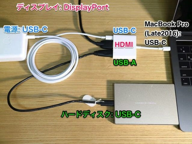 AppleUSB C DigitalAVMultiportAdapter USB Cに電源