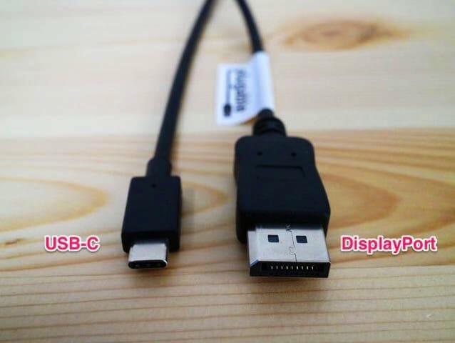 USB C to DisplayPort
