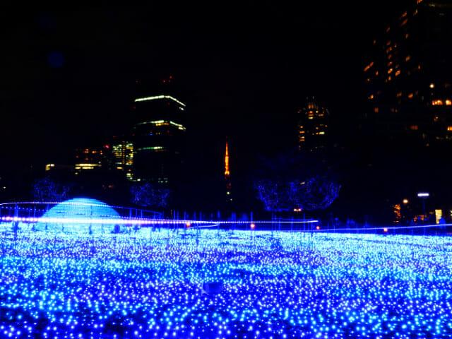 東京ミッドタウン クリスマス2016イルミネーション 6 2スターライトガーデン