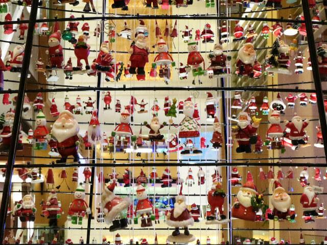 東京ミッドタウン クリスマス2016イルミネーション 7 3サンタツリー