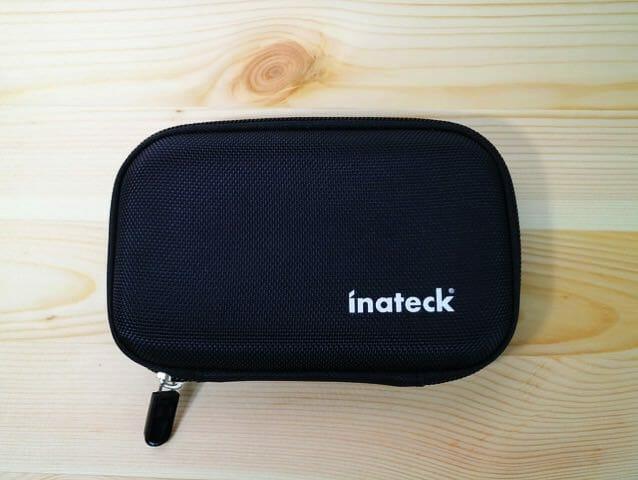 Inateck2 5インチポータブルHDDケース 外形