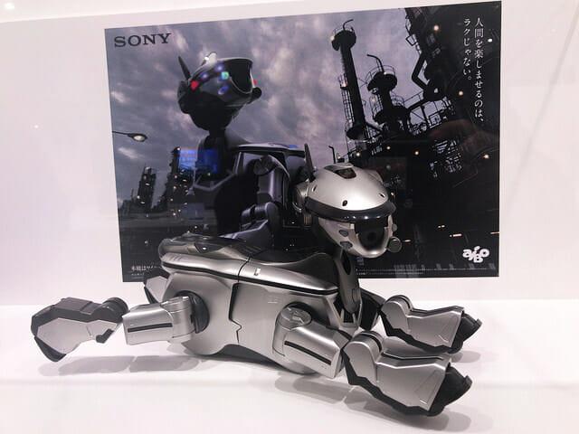 ソニービルIt s a Sony展aibo