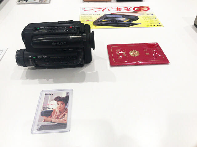 ソニービルIt s a Sony展Handycam