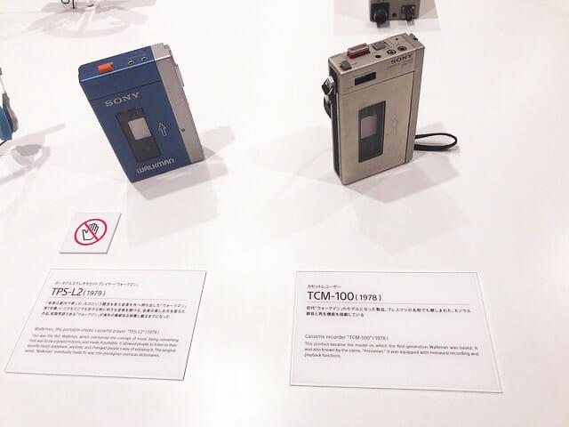 ソニービルIt s a Sony展Walkman初代