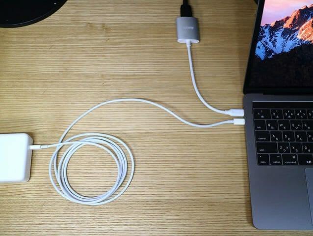 Aukey USB CtoHDMIAdapter 使用状況