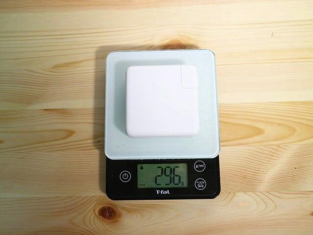 Apple87WUSB C電源アダプタ重量