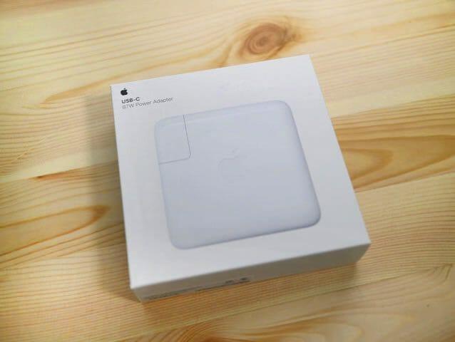 Apple87WUSB C電源アダプタパッケージタイトル