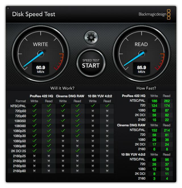 USB3 0DiskSpeedTest