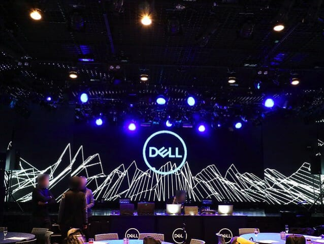 Dell新製品発表会2017 会場内