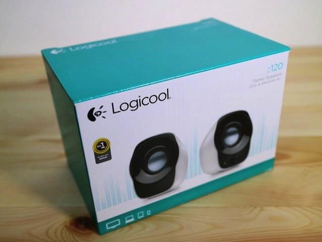 LOGICOOLステレオスピーカーZ120BWパッケージ